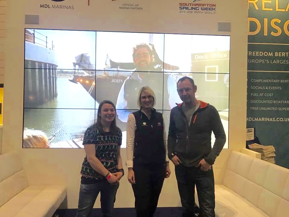 MDL at the London Boat Show