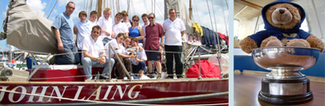 Line honours in the ASTO Small Ships Race