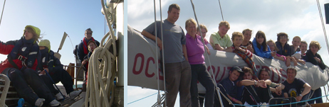 Hampshire and Duke of Edinburgh award mixed voyage