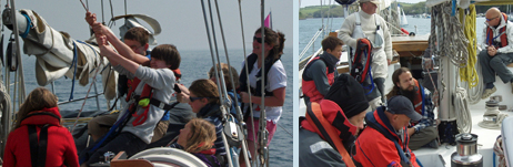 Youth voyage and adult training