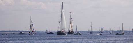 Parade of sail, Riga