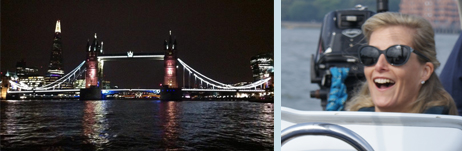 London 2014 - and royalty at the helm!