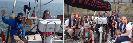 A youth voyage and a donors' day sail!