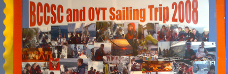Balby Carr Community Sports & Science College voyage display
